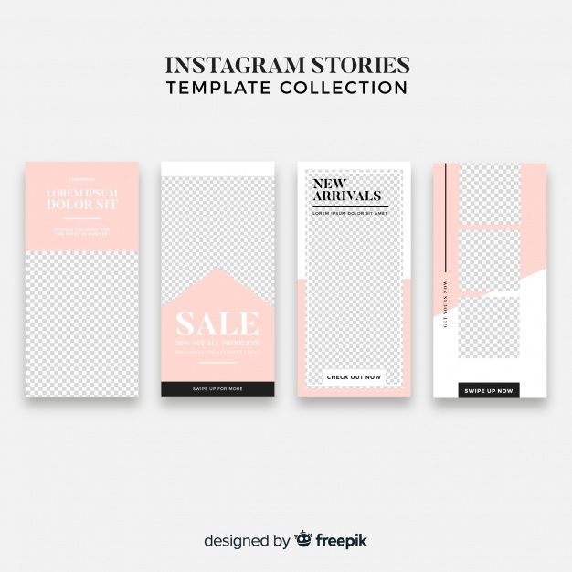 Download Modern Instagram Story Template Collection for
