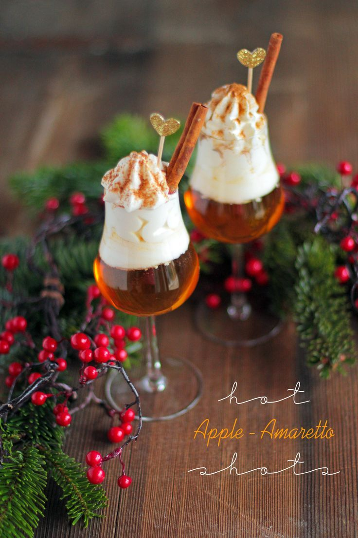 Heisser Apfel Amaretto | Hot Apple Amaretto Shot - City Cupcakes