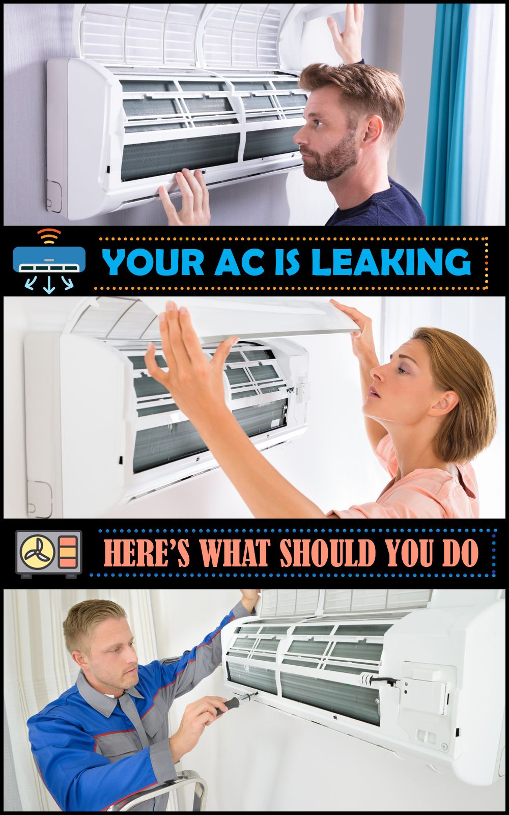 Is Your Air Conditioner Leaking Water? Here's What Should