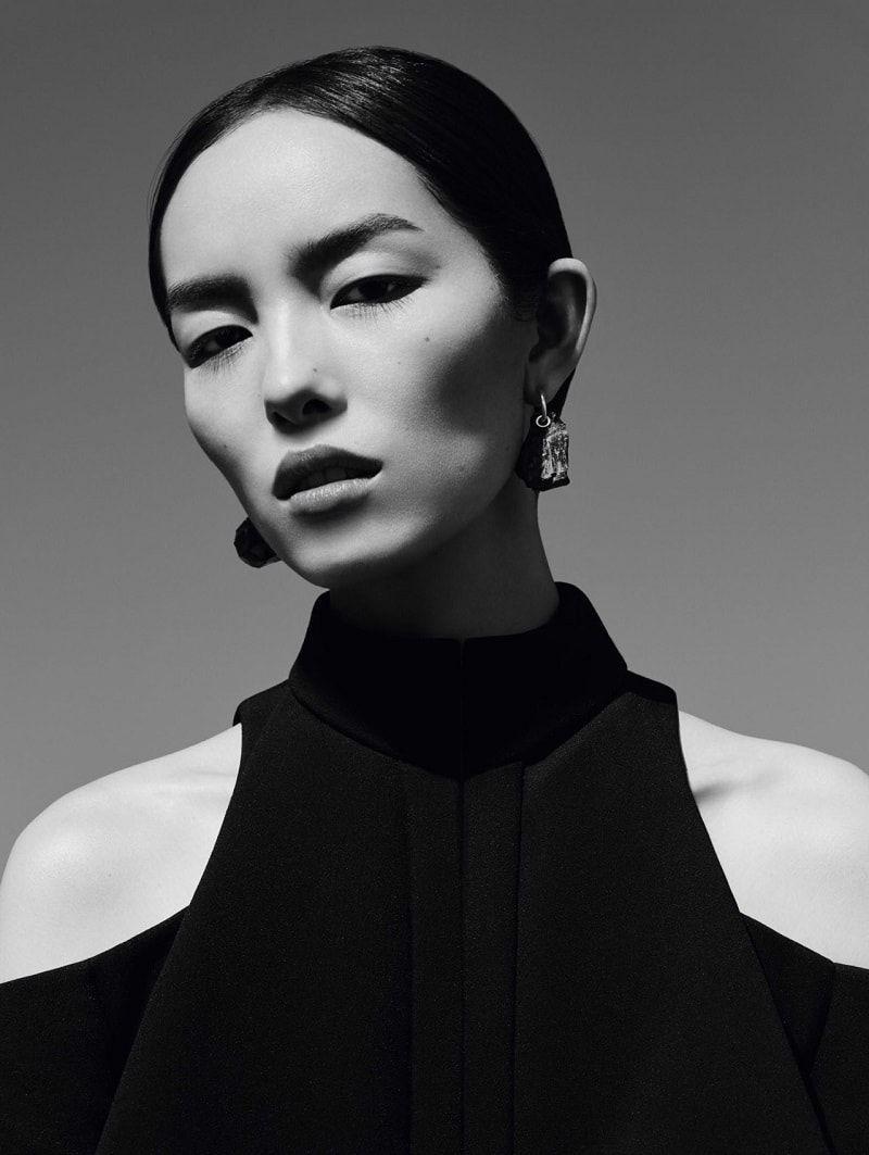 Fei Fei Sun par Ben Toms pour Vogue Chine janvier 2017 – Éditoriaux de mode – Minimal. / Visuel.   – exclusive