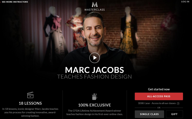 Masterclass Marc Jacobs Teaches Fashion Design Master Class Fashion Design Marc Jacobs