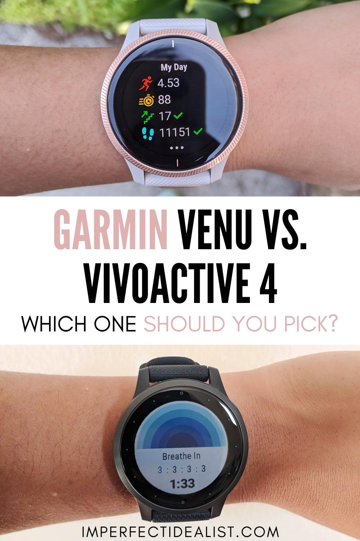 Garmin Venu Vs Vivoactive 4 Which Should You Pick Garmin Vivoactive Gym Equipment Workout