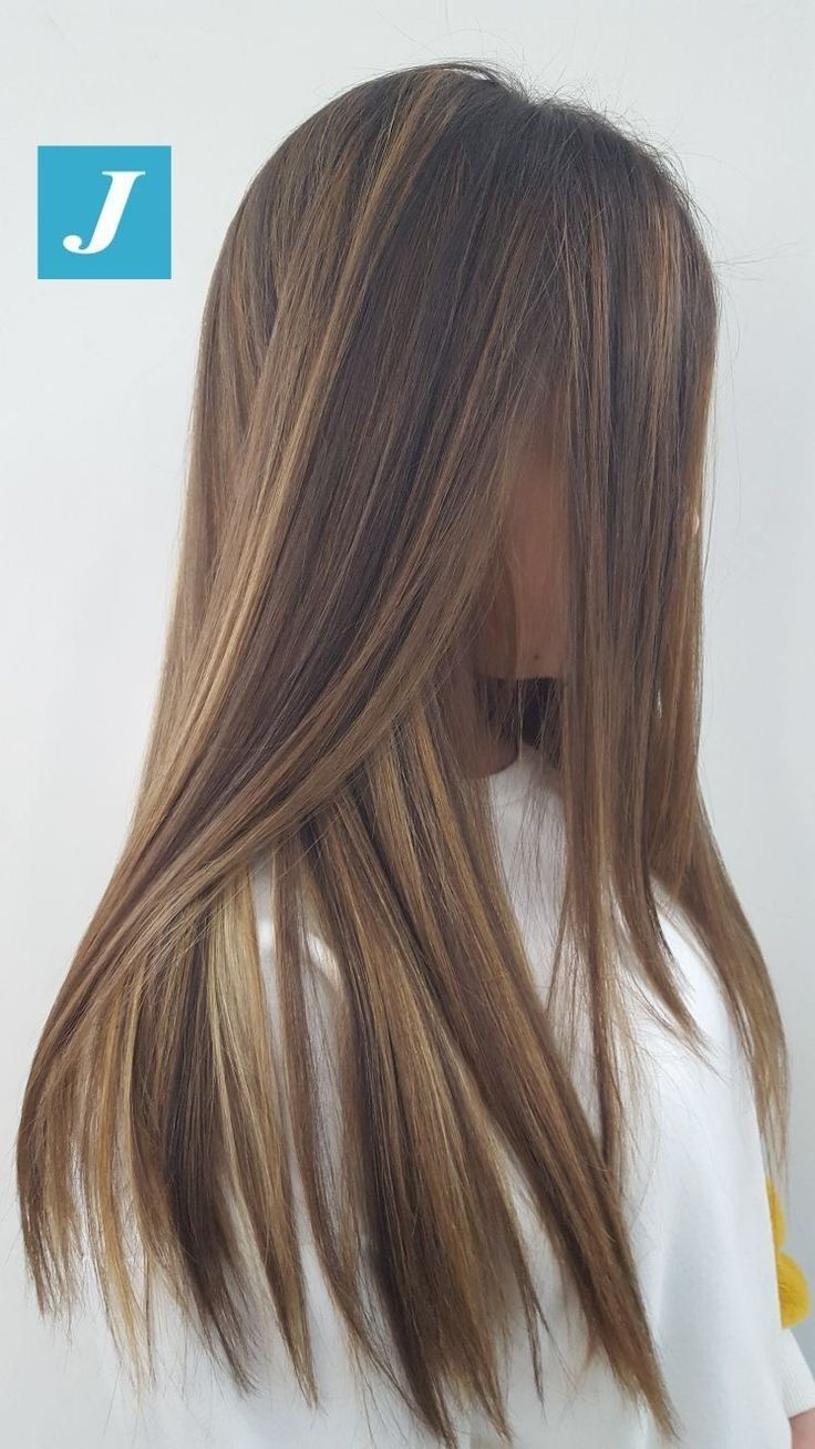 Schulterlang Schulterlang Hair In 2019 Haare Balayage