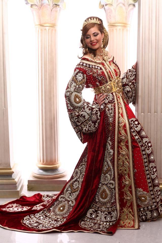 Super Appréciez la négafa marocaine proposé par la boutique de caftan de  HG13