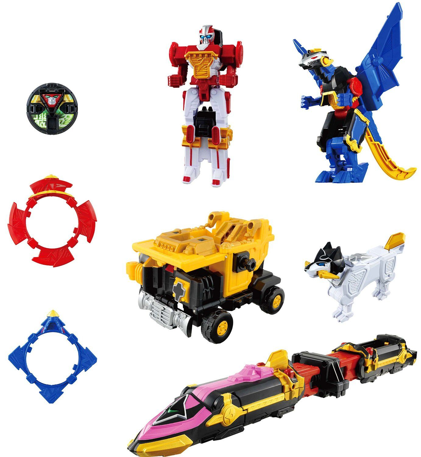 Power Rangers Ninja Steel Megazord Japanese Ninninger Version