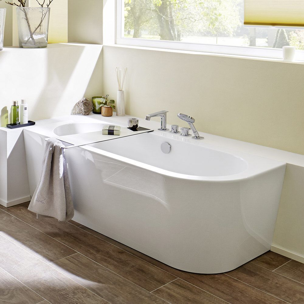 Steinkamp 1000 Freistehende Eck Badewanne 180 X 80 Cm Rechts St010er Megabad Diybathroo In 2020 Small Bathroom Remodel Freestanding Corner Bath Small Bathroom