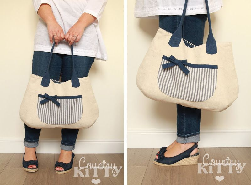 Countrykitty: Last minute (as usual!) summer bag