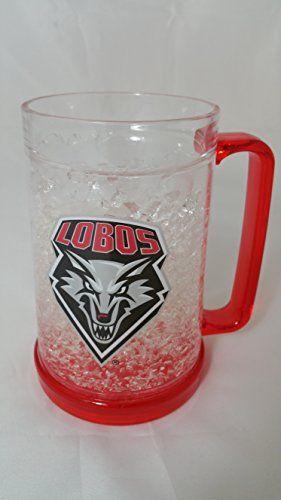 New Mexico Lobos Freezer Mugs