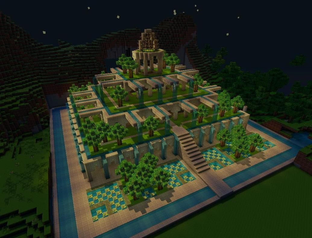 Pretty Little Gardens Minecraft Map With Images Minecraft