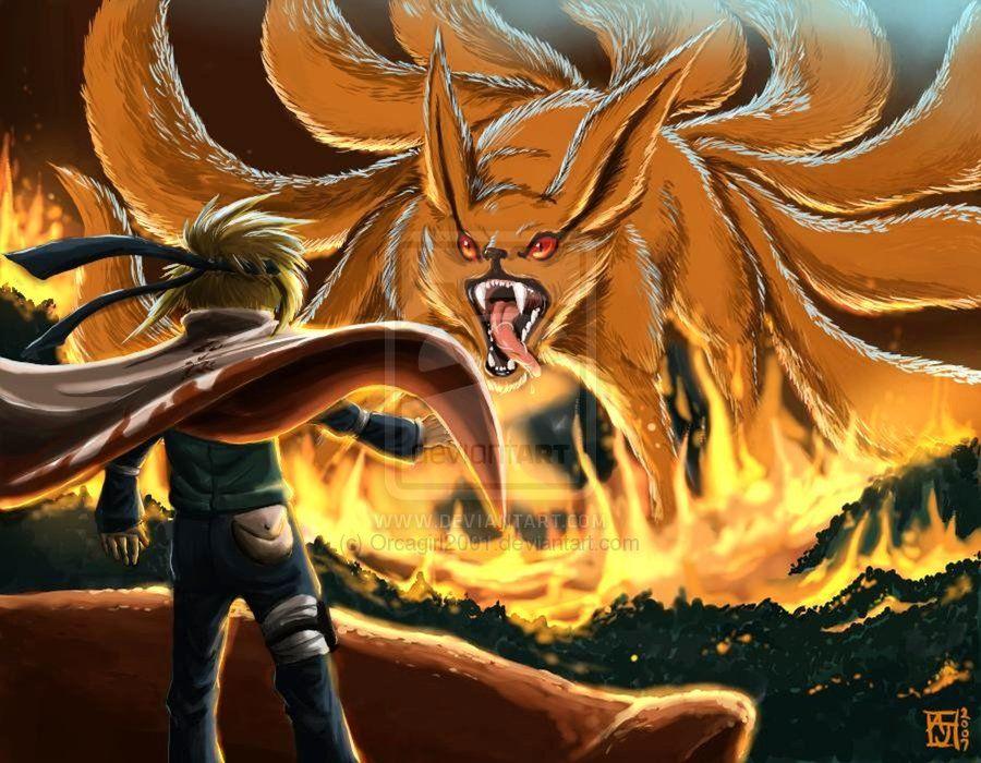 4th Hokage Vs Kyuubi Naruto Wallpaper Best Naruto Wallpapers
