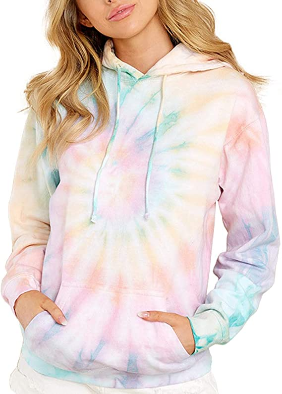 Men Casual Long Sleeve Hoodie Printed Baggy Pullover Tops Winter Warm Sweatshirt