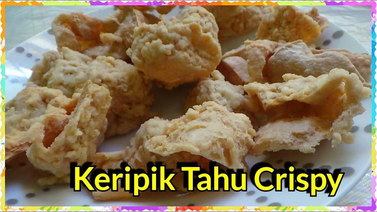 How To Make Crispy Tofu Chips Home Cooking Recipes Memasak Resep Makanan Tahu