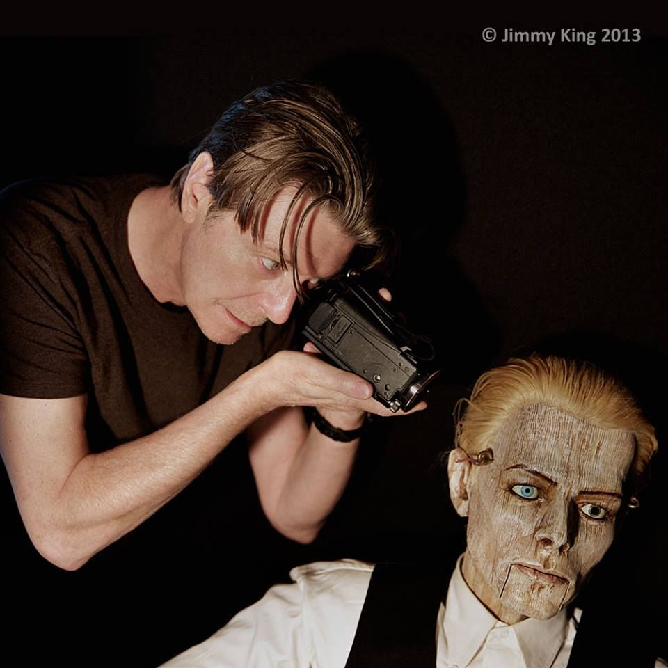 DAVID BOWIE. BRAND NEW PHOTO taken from the new song ''Love is lost ' video oct 2013.