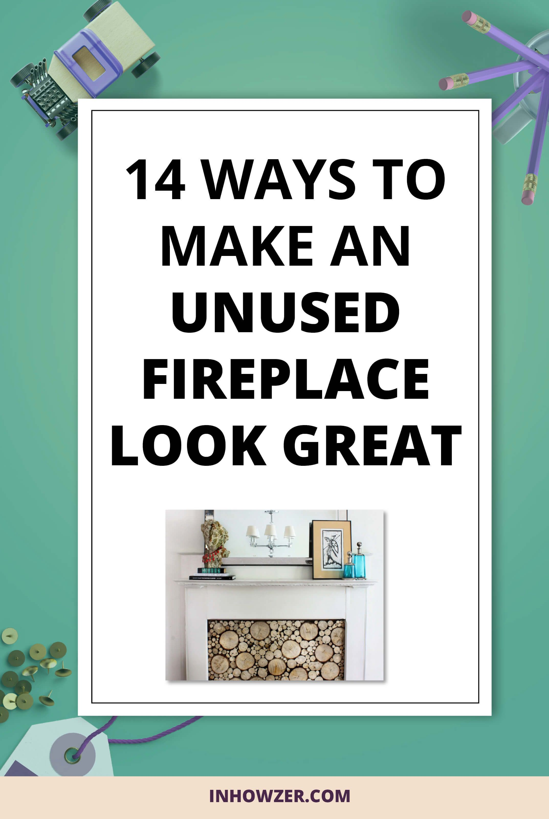 styling a non working fireplace is important as it is the focal