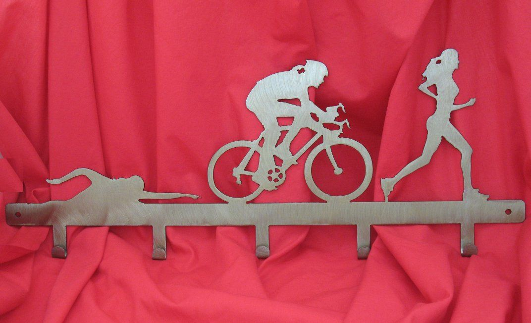 Triathlon hook rail, female