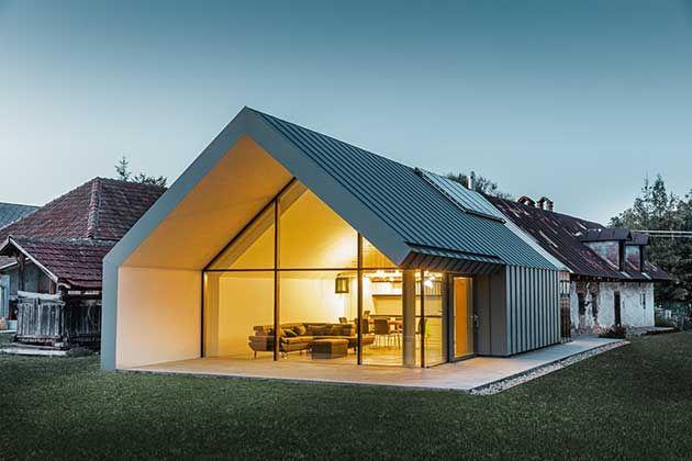 Modernit rurale ioarch costruzioni e impianti il for Case contemporanee