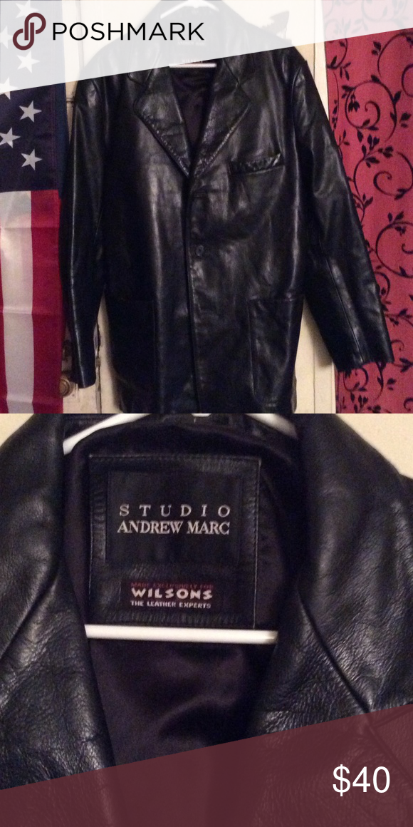 Men's Leather jacket Wilson leather jacket very soft