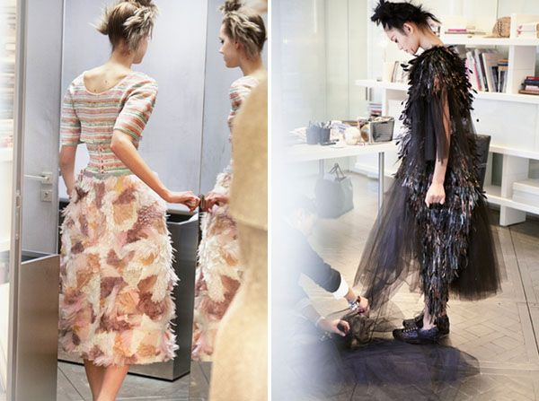 Chanel spring / summer Paris couture 2014.