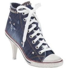 bda5833a1492 converse stilettos - these are the design of the traditional basketball  shoe