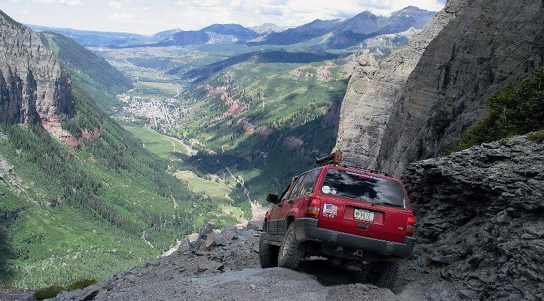 Black Bear Pass Colorado >> Black Bear Pass Cars In 2019 Jeep Trails Beautiful