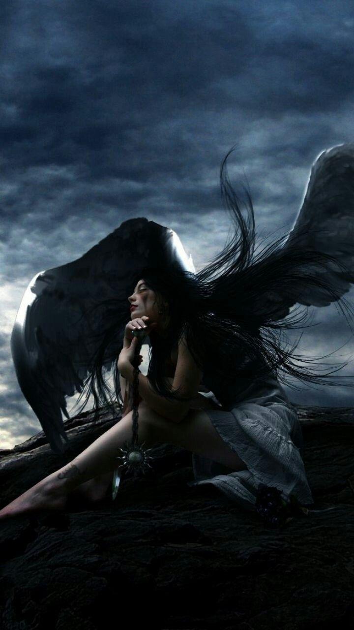 Pin By Tammy Galotti On Angels Dark Angel Angel Feathers