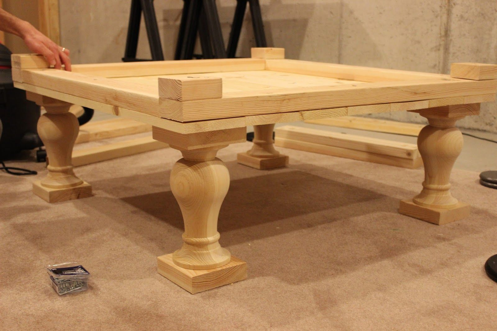 Diy Balustrade Coffee Table Coffee Table Diy Coffee Table