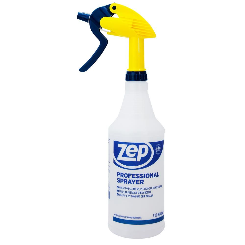 Zep 32 Oz Professional Spray Bottle Hdpro36 The Home Depot Spray Bottle Bottle Sprayer Bottle