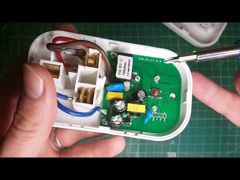 How to Hack a connected SONOFF S20 plug to make it a super