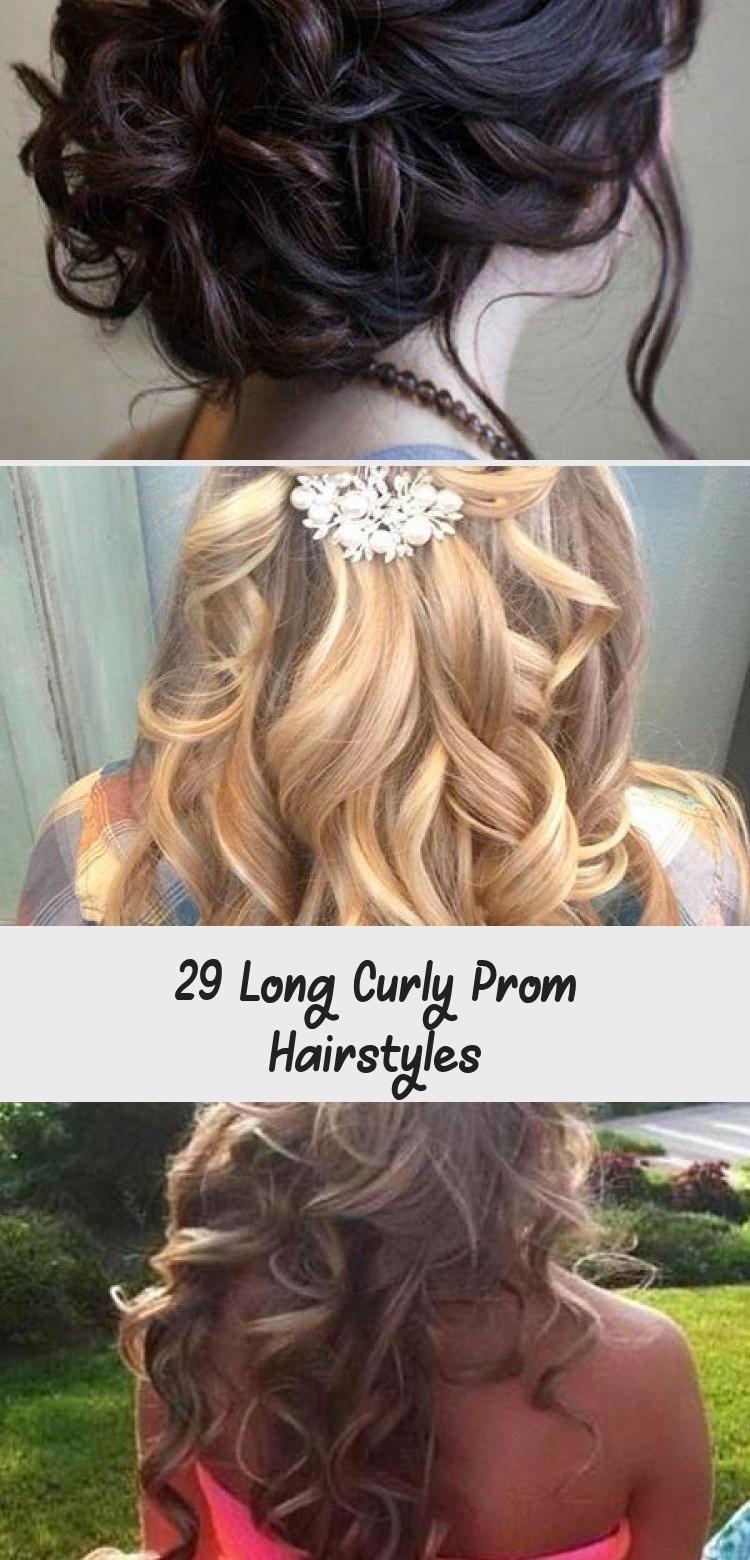 AbschlussballFrisuren #Curly #hairstyles #lange #lockige #Long