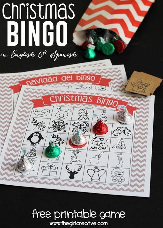 Free printable adult christmas games — pic 1