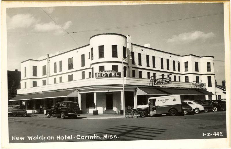New Waldron Hotel Corinth Mississippi Corinth Hotel House Styles