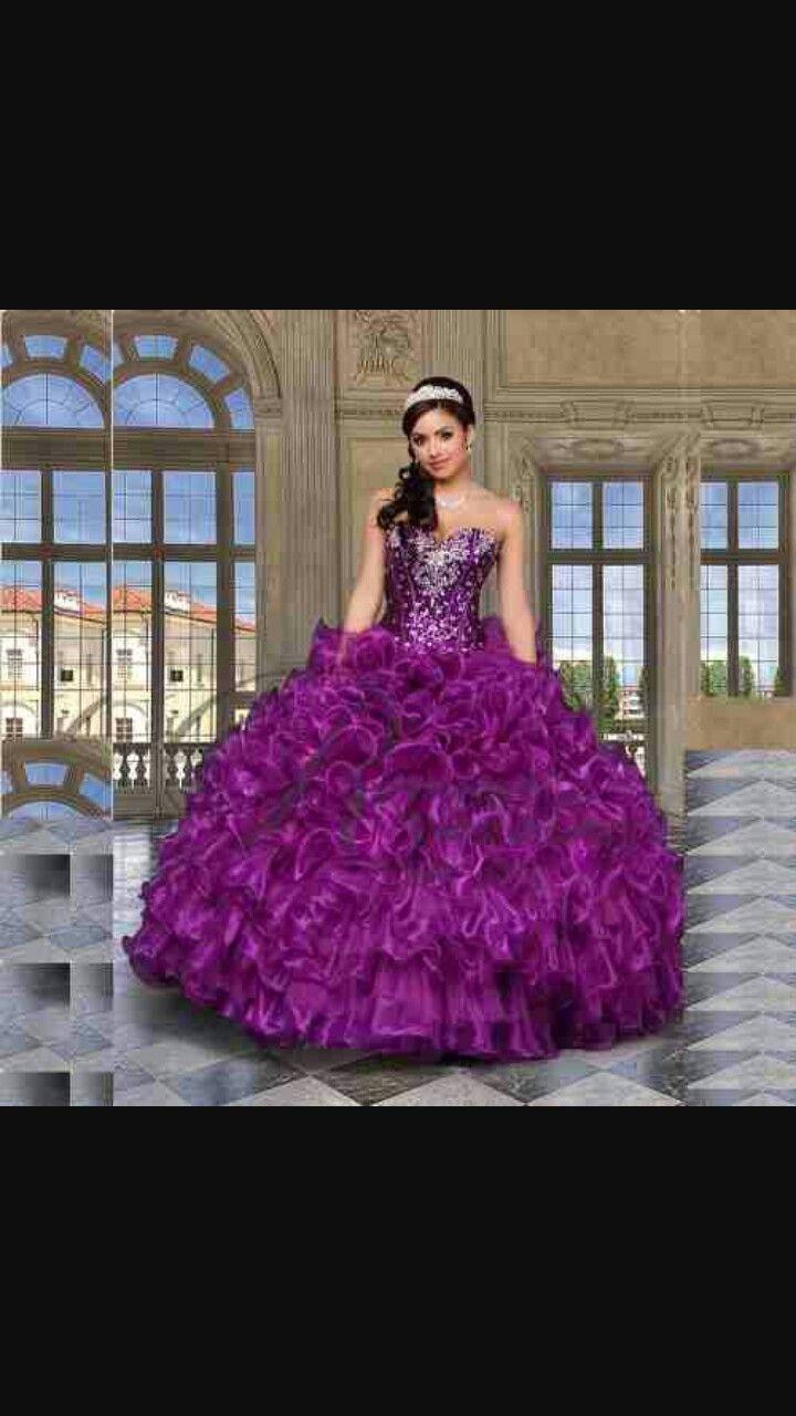 b9609ec1e Vestido de XV años fiusha