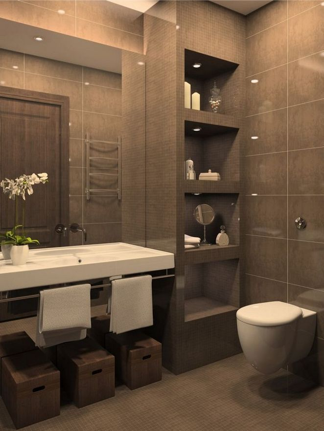 40 The One Thing to Do for Bathroom Remodel Brown