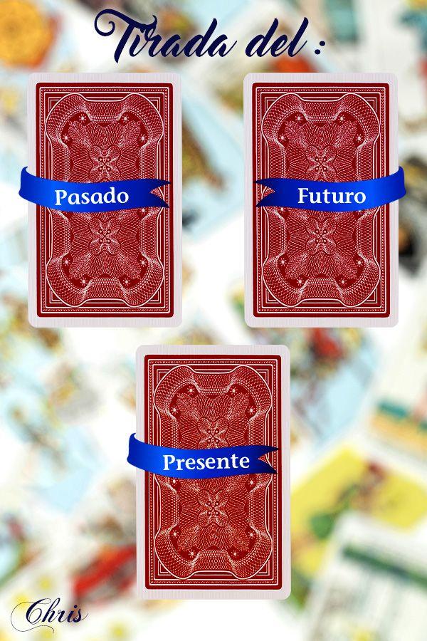 Tirada Del Pasado Presente Y Futuro La Tirada De Tres Cartas Es Perfecta Para Hacer Una Revisión Perso Tirada De Cartas Gratis Tirada Gratis Tirada De Cartas