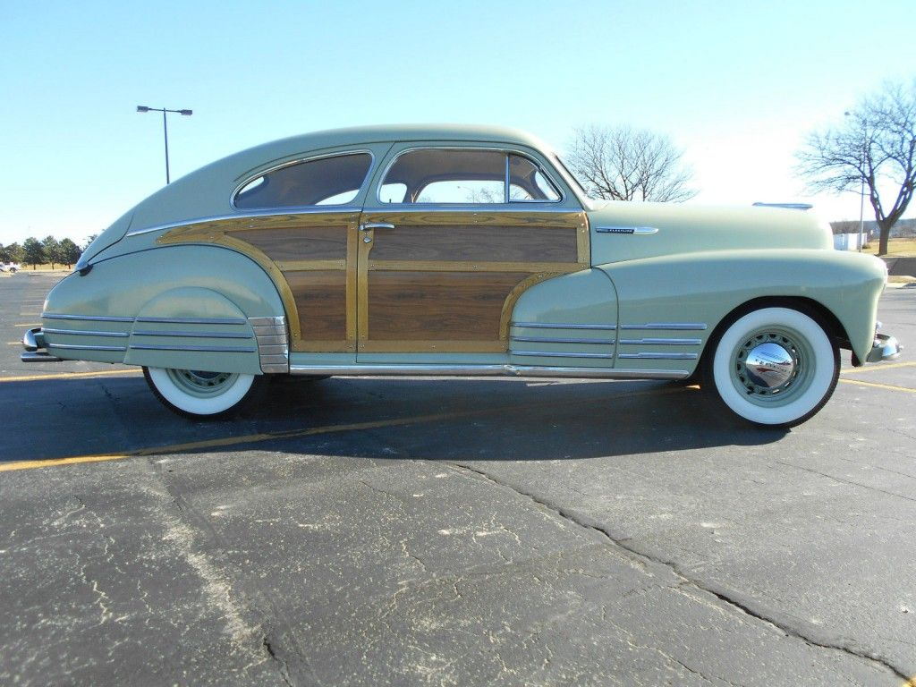 1948 Chevrolet Fleetline Chevrolet Weird Cars Woody Wagon