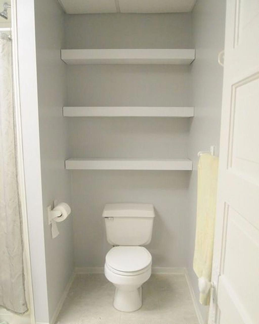How To Create Bathroom That Fit Best Toilet Closet Simple Wooden