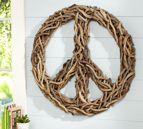 Diy Drift Wood Peace Sign Tutorial Driftwood Driftwood