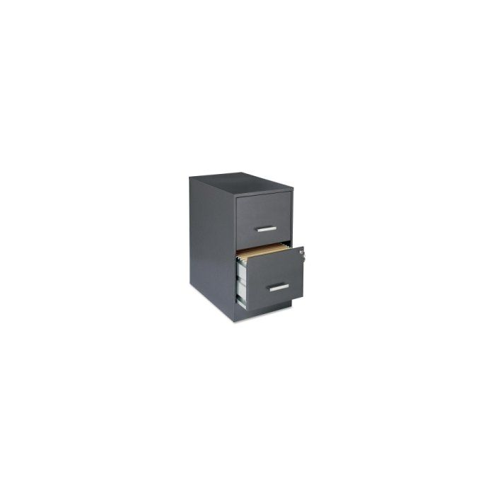 This File Cabinet Features Two Locking File Drawers With Smooth Glide Suspension To Store Your Important Moderatel Filing Cabinet Metal Filing Cabinet Cabinet