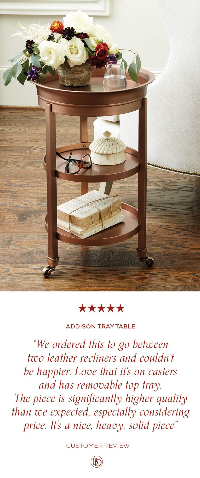 Ballard Designs Addison Tray Table