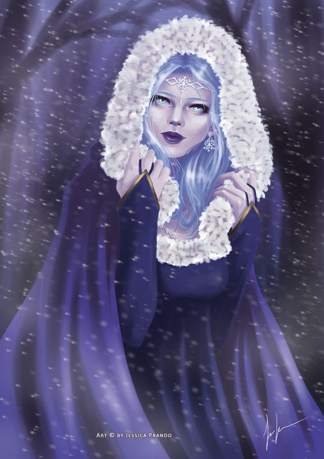 Lady Winter by Jessica-Prando
