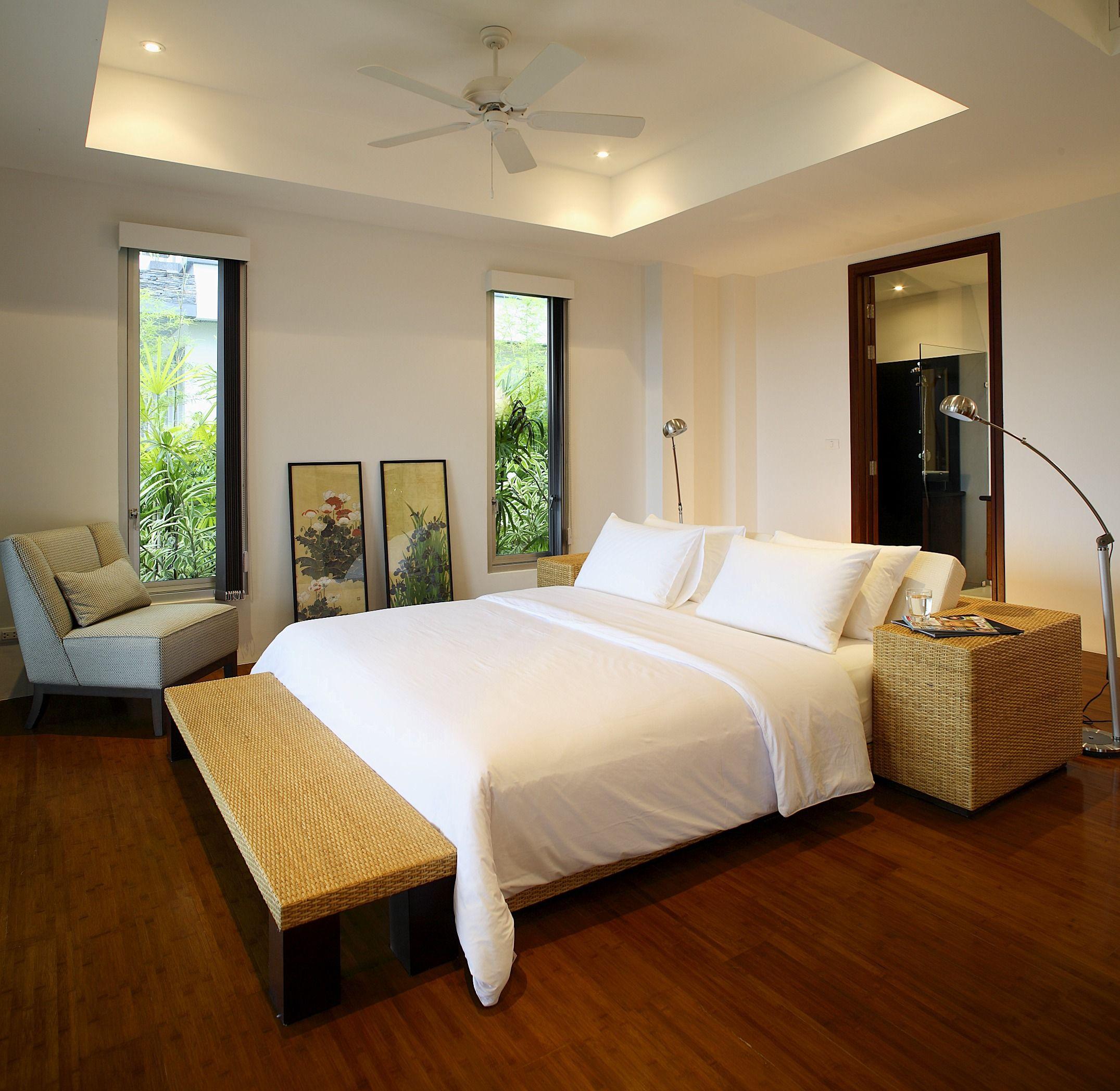 Master bedroom hardwood floors  Master Bedroom Makeover  Flooring installation Dark hardwood