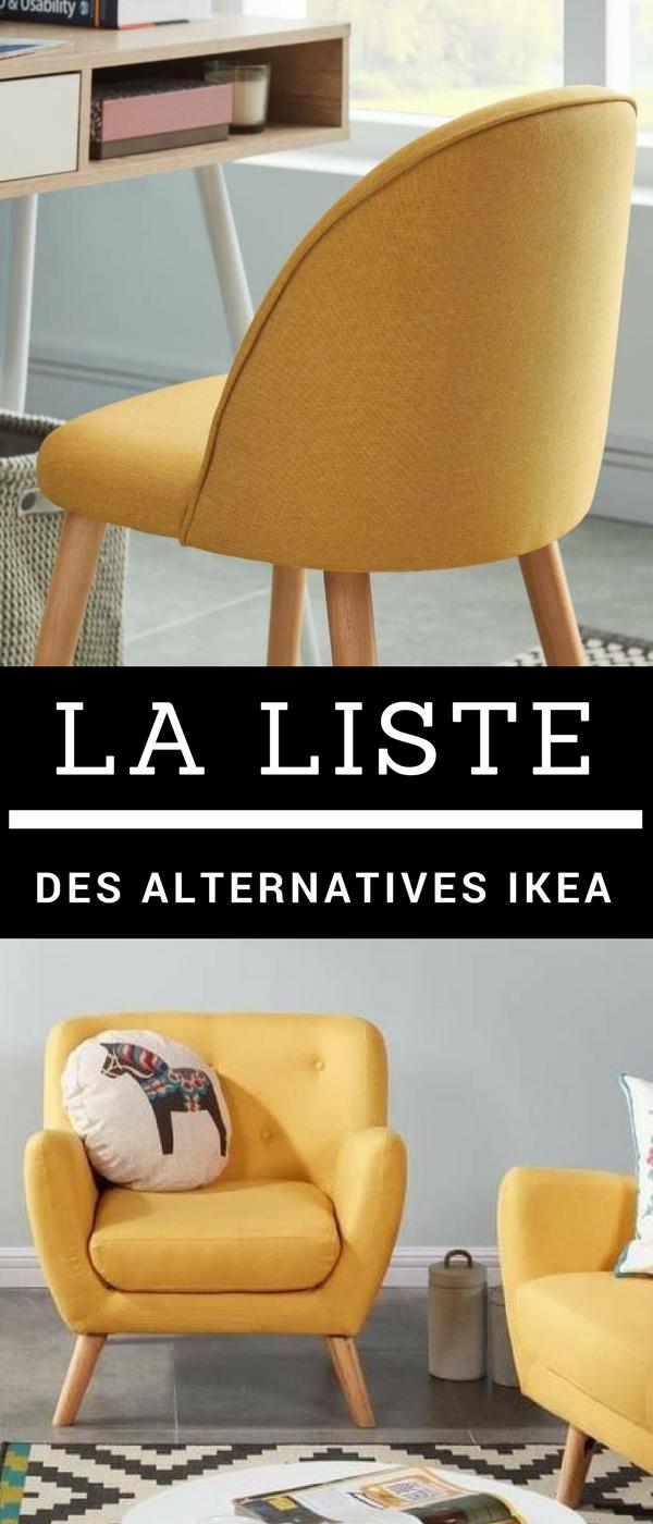 Vous Cherchez Des Meubles Design De Qualite Et Accessible Decouvrez Cette Liste Des Boutiques Alternatives A Ikea Pour Ikea Mobilier De Salon Meuble Design