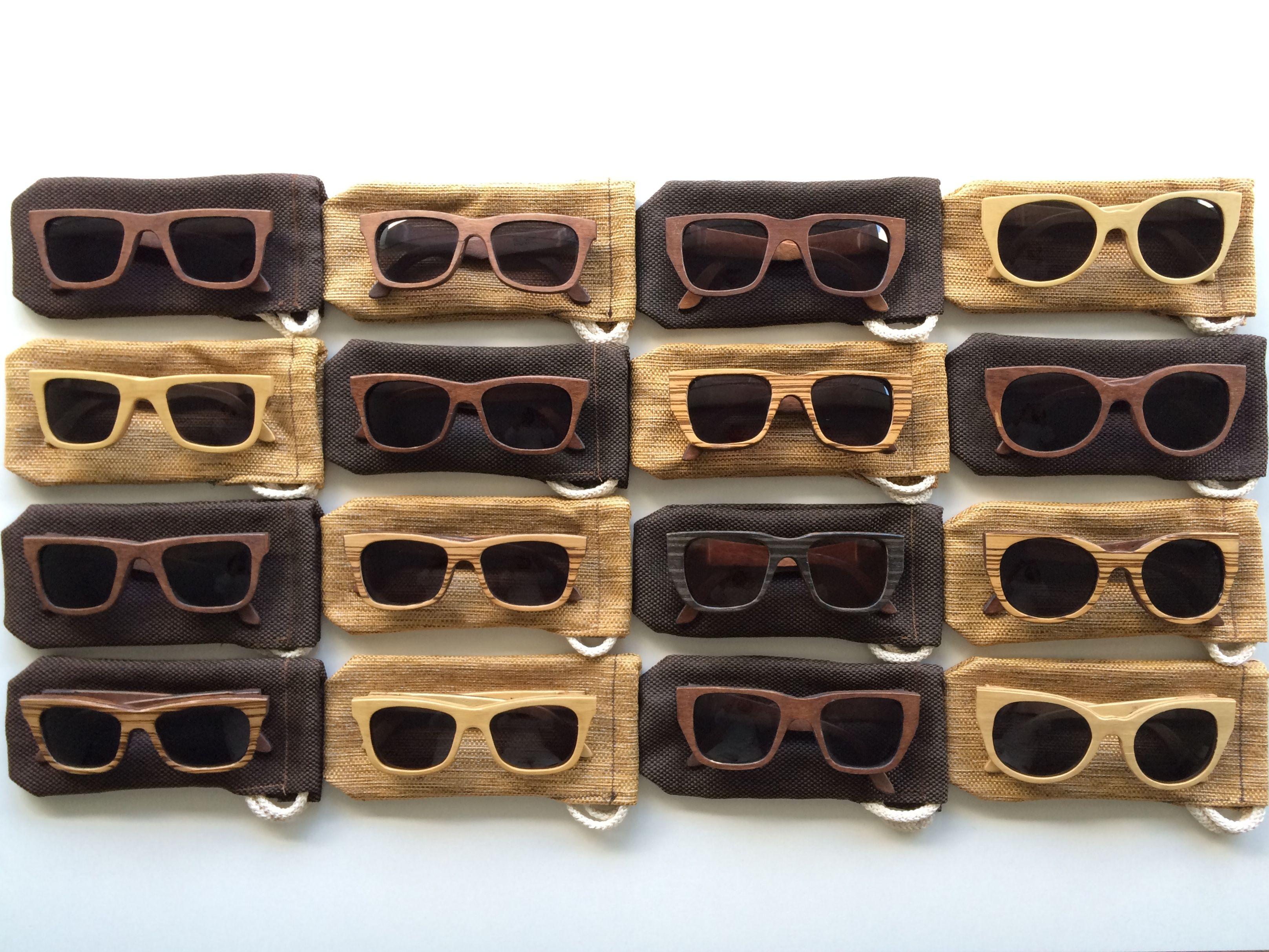 Gafas de Madera, diseño sustentable, arte industria.