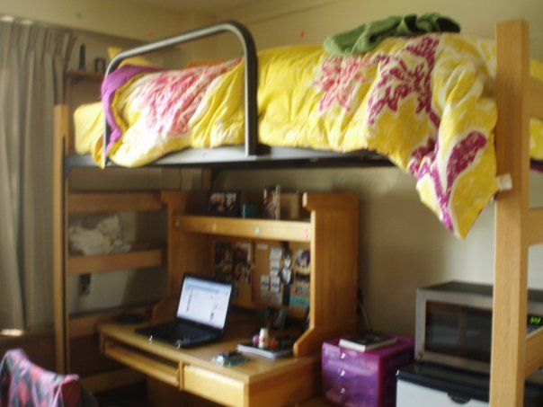 From My Freshman Year At Purdue Earhart Hall Dorm Room Ideas