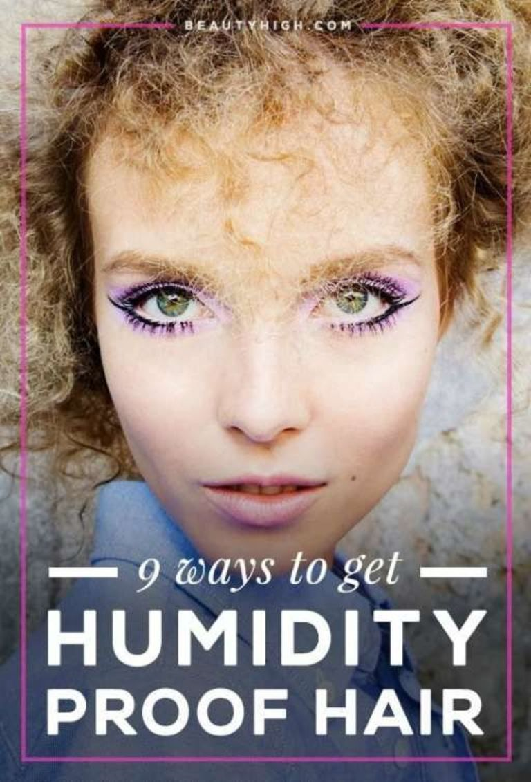 ways to make sure your hair is humidity proof easy hair style