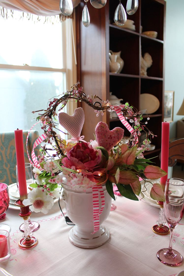 Easy Cottage Style Table Decoration Ideas for Valentine's ...