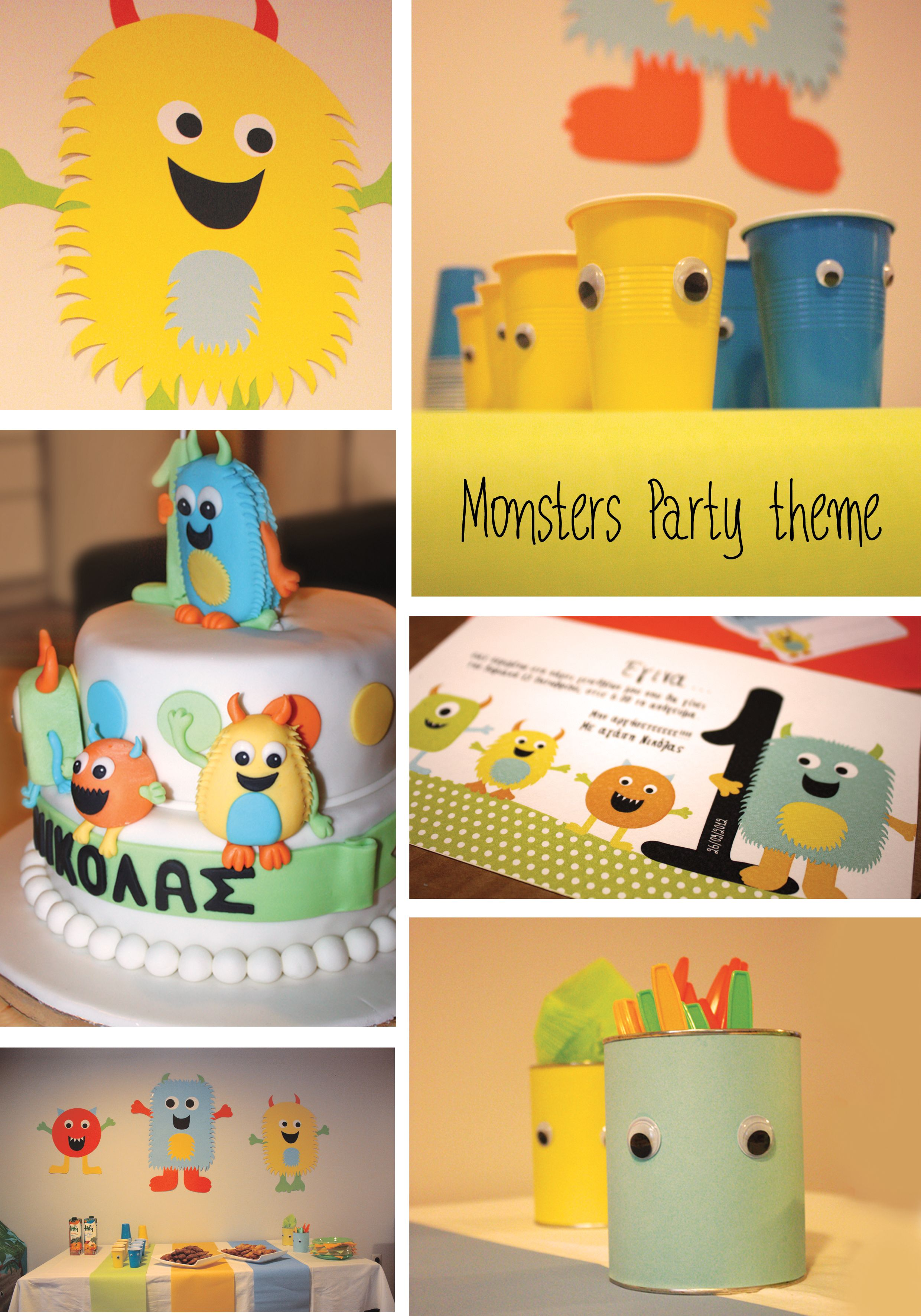 Monsters Party Theme