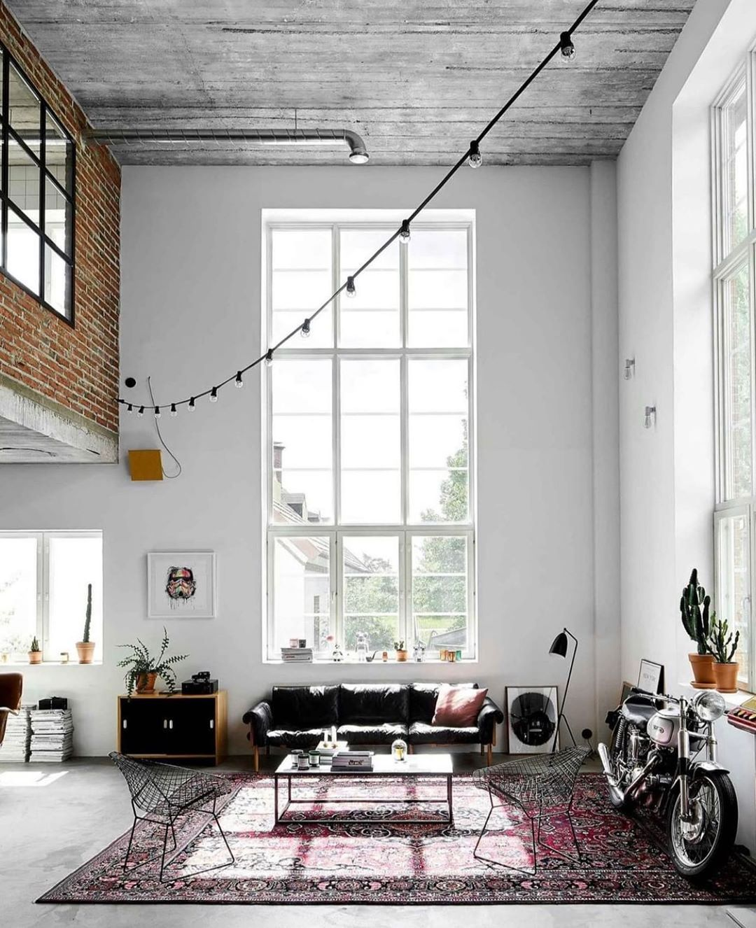 """Robert Allan Property's Instagram profile post: """"Warehouse conversions can be amazing spaces! � #warehouseconversions #warehouseliving #interiorliving"""""""