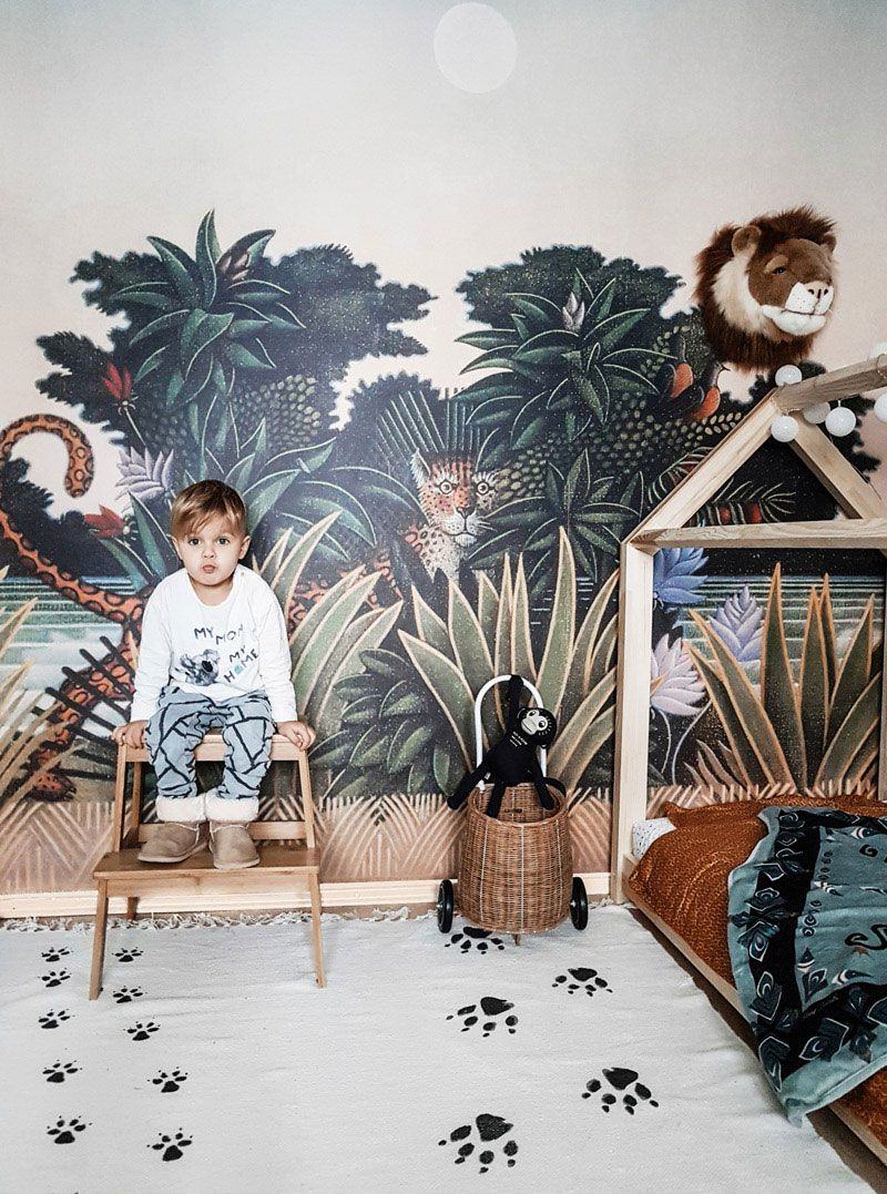 Mark's Playful Toddler Room with Jungle Vibes #toddlerrooms