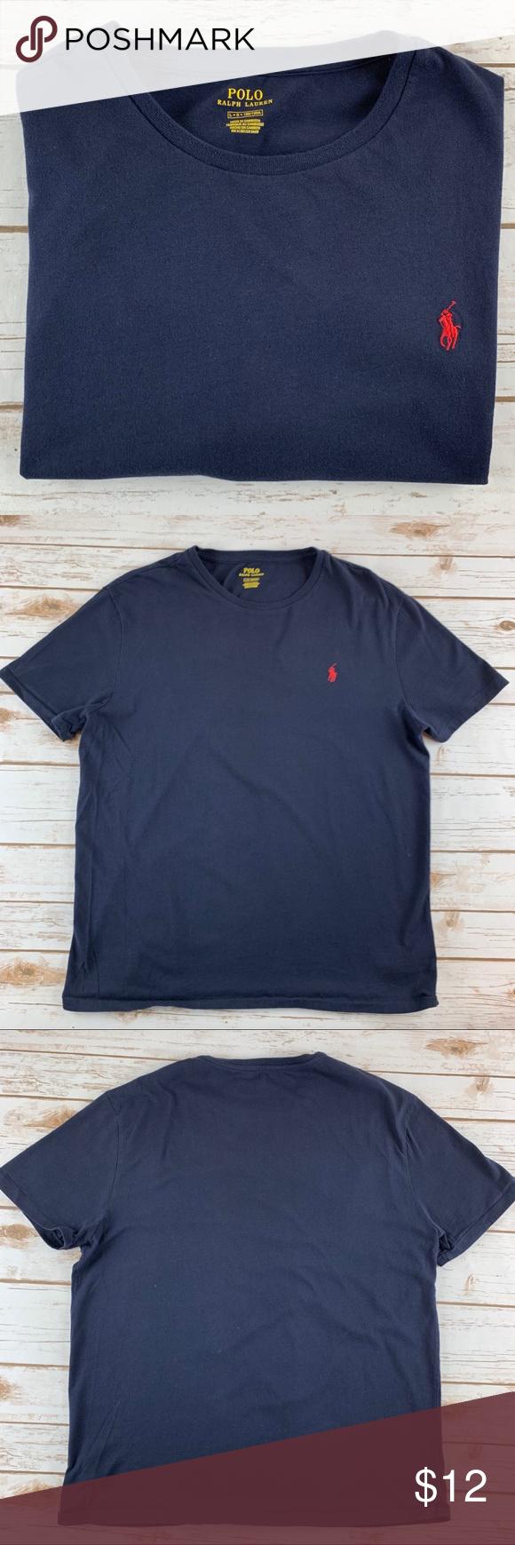 9a549e161 Polo Ralph Lauren Men's Crew Neck T-Shirt 🐎 Polo Ralph Lauren men's crew neck  T-shirt Crew neck line. Short sleeves. Classic fit.